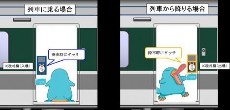 車載型IC改札機 イメージ(JR西日本ニュースリリースより)