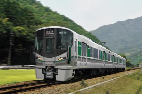 和歌山線・桜井線用新型車両「227系」イメージ