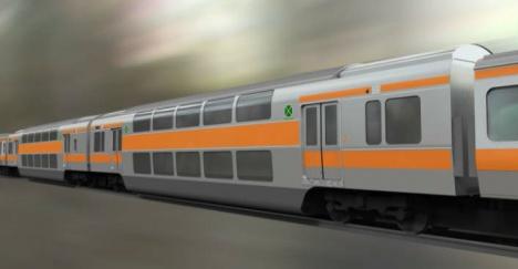 中央快速線グリーン車イメージ(JR東日本ニュースリリースより)