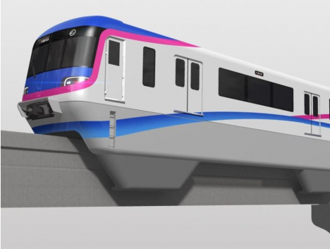 大阪モノレール新型車両「3000系」イメージ