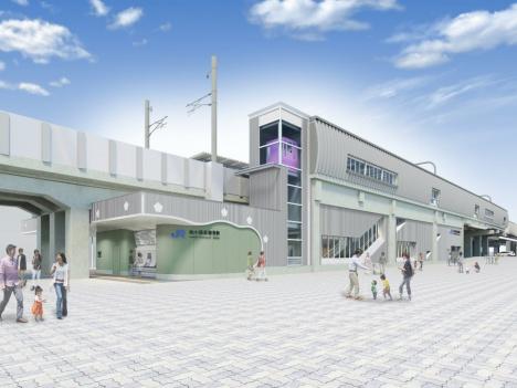 「梅小路京都西」駅イメージパース