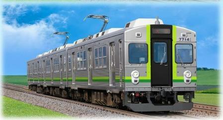 緑歌舞伎車両イメージ案(養老鉄道活性化協議会ニュースリリースより)