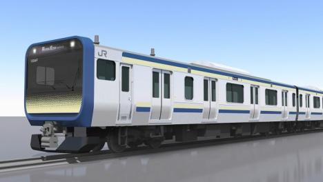 横須賀線・総武快速線「E235系」イメージ(JR東日本ニュースリリースより)