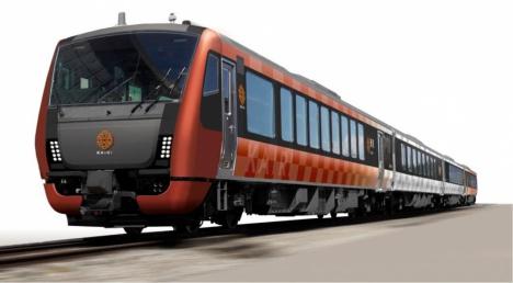 観光列車 海里 外観デザイン(JR東日本新潟支社ニュースリリースより)