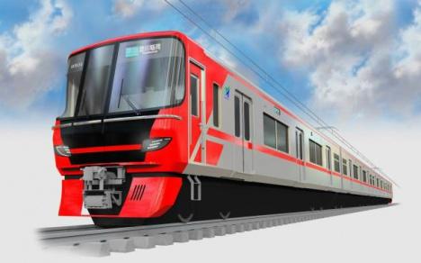 名鉄新型車両「9500系」イメージ(名古屋鉄道ニュースリリースより)