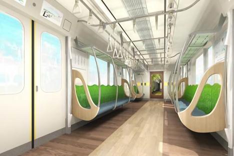 東急目黒線新型車両「3020系」車内イメージ