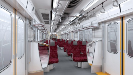 東武鉄道「70090型」車内イメージ