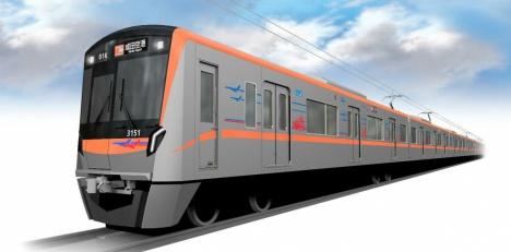 京成電鉄3100形外観イメージ(京成電鉄ニュースリリースより)