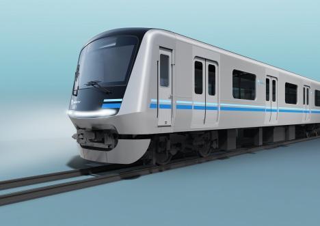 小田急電鉄の新型通勤車両「5000形」イメージ