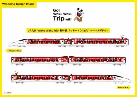 ミニー新幹線 外装デザインイメージ
