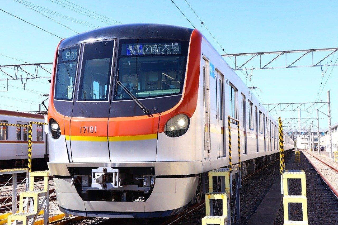 東京メトロ有楽町線・副都心線用の新型車両「17000系」